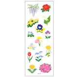 オクヤマ ラメ入りシール ZR268 春の花