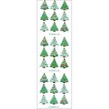【クリスマス】 オクヤマ 和風シール JC070 クリスマスツリー