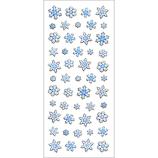 オクヤマ 和風シール JC072 雪の結晶