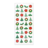 【クリスマス】 オクヤマ 和風シール JF076 クリスマス