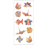 オクヤマ 和風シール 折り紙 JF314