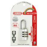 ABUS マイカラー可変式南京錠 145/20シルバー