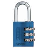 アバス(ABUS) マイカラー可変式南京錠 145/30 ブルー