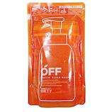 柑橘王子 フェイシャルクリアホイップN レフィル 300mL│メンズコスメ・男性化粧品 男性用洗顔料