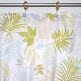 サンローズ シャワーカーテン アラモア 142×150cm グリーン 1枚入
