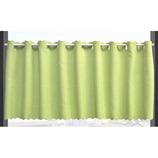 遮光 パステルバスカーテン グリーン 幅135×丈60cm