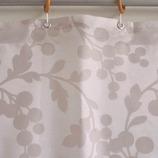 サンローズ シャワーカーテン ショパン 幅142×丈150cm ベージュ 1枚入