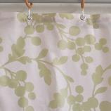 サンローズ シャワーカーテン ショパン 幅142×丈150cm グリーン 1枚入