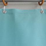 サンローズ シャワーカーテン シャーベット 幅142×丈180cm ライトブルー 1枚入│お風呂用品・バスグッズ シャワーカーテン