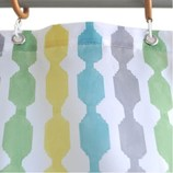 サンローズ シャワーカーテン レイン 幅142×丈180cm グリーン 1枚入