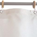 サンローズ シャワーカーテン ニードル 幅142×丈180cm ベージュ 1枚入