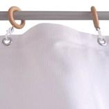 サンローズ シャワーカーテン ニードル 幅142×丈180cm ピンク 1枚入