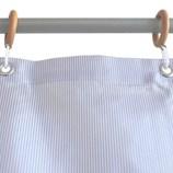 サンローズ シャワーカーテン ニードル 幅142×丈180cm ブルー 1枚入│お風呂用品・バスグッズ シャワーカーテン