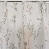 サンローズ 遮光カーテン イエロー 幅100×丈135cm 1枚入