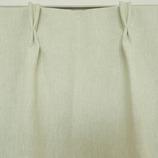 サンローズ 遮光1級・防炎カーテン ミスティオ 幅150×丈135cm モスグリーン 1枚入