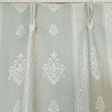 サンローズ 遮光カーテン グレース裏地付 幅100×丈200cm グリーン 1枚入│カーテン・ブラインド 遮光カーテン