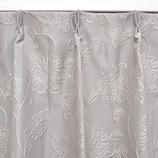 サンローズ 遮光カーテン モデラート裏地付 幅100×丈178cm グレー 1枚入