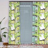 VALLILA 遮光カーテン プリーツ ラウマ 100×135mm グリーン 2枚組│カーテン・ブラインド 遮光カーテン