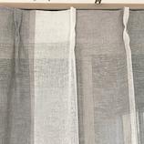 サンローズ ボーダリーボイル グレー 幅100×丈133cm 1枚入