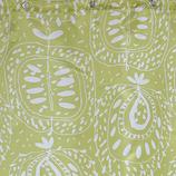 サンローズ シャワーカーテン アダム グリーン 幅142×丈150cm 1枚入