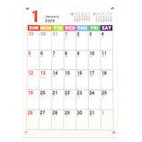 【2020年版・壁掛卓上兼用】フロンティア カレンダー ジャバラ ヨコノビ A5 CAL−40
