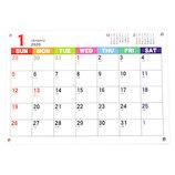 【2020年版・壁掛卓上兼用】フロンティア カレンダー ジャバラ タテノビ A4 CAL−41