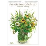 【2021年版・壁掛】 フロンティア カレンダー Fujico 書き込み L CAL‐06
