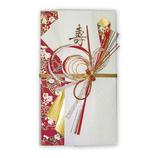 フロンティア 祝儀袋 SG−124 扇の舞 赤│のし・色紙 のし袋