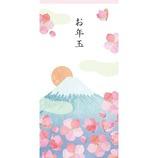 フロンティア お年玉 ロング PCH−116 富士山と梅 3枚入