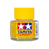 タミヤ タミヤセメント(六角びん) 20mL│接着剤 その他 接着剤