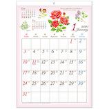 【2021年版・壁掛け】 フラワーシーズンカレンダー B3 ECR-2103
