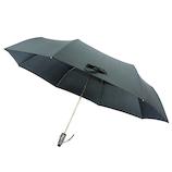 UVION 耐風ビッグ自動開閉傘69 7921 ブラック│レインウェア・雨具 折り畳み傘