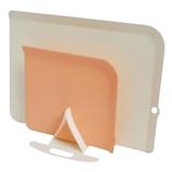 伊原企販 NATURE 収納できる抗菌まな板セット N-020 アイボリー/ピンク│包丁・まな板 ソフトまな板