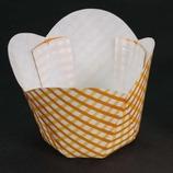 カップケーキ焼き型(M-501) 黄チェック