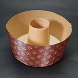 紙製シフォンケーキ焼型(M-402) フタ無/茶