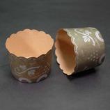 紙製マフィンカップ(M-56) グレープ緑/5枚入
