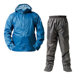 マック(Makku) アジャストマック バッグイン Lサイズ AS7600L-BLU スカイブルー│レインウェア・雨具 レインコート・ポンチョ