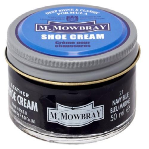 M.MOWBRAY エム.モゥブレィ シュークリーム ネイビーブルー
