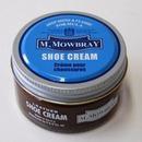 M.MOWBRAY エム.モゥブレィ シュークリーム ダークブラウン 10│靴磨き・シューケア用品 レザーオイル