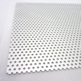 アルミパンチング板 丸型 A-10 200×300×0.5mm