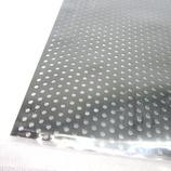 アルミパンチング板 丸型 0.5×200×300 ブラック