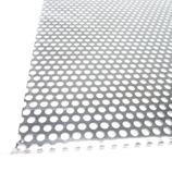 アルミパンチング板 丸型 A‐12 200×300 ブラック