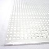 アルミパンチング板 四角型 0.5×200×300