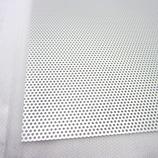 アルミパンチング板 丸型 A‐3 100×200×0.5mm