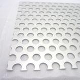 アルミパンチング板 丸型 100×200