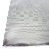 アルミパンチング板 丸型 A‐3 100×200×0.5mm ブラック
