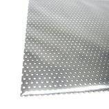 アルミパンチング板 丸型 A-10 0.5×100×200 ブラック