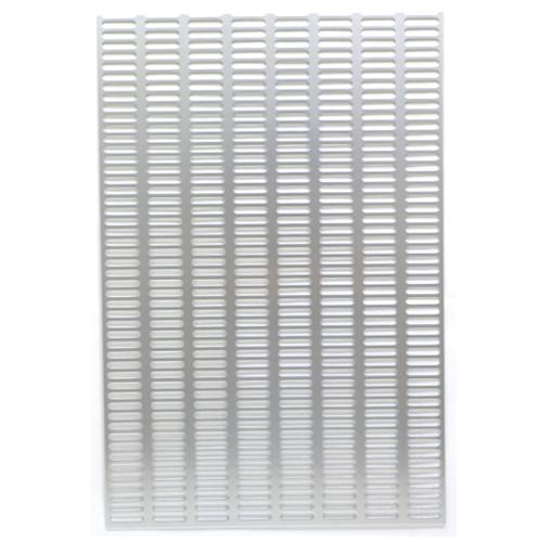 アルミパンチング板 板長穴 1.0×20×30