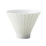 深山(miyama) 茶々 朝顔形煎茶碗 白川淡黄緑  67-084-122│茶器・コーヒー用品