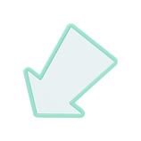 メッセージクリップ MCL−0010 ライトブルー
